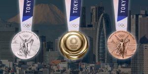 The Medals for the 2020 Tokyo Olympics